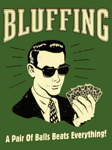 Poker le grand bluff