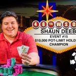 Shaun Deeb remporte son 2ème bracelet WSOP de poker
