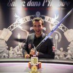 Etudiant remporte un gain de 103 500 € au Winamax Poker Tour