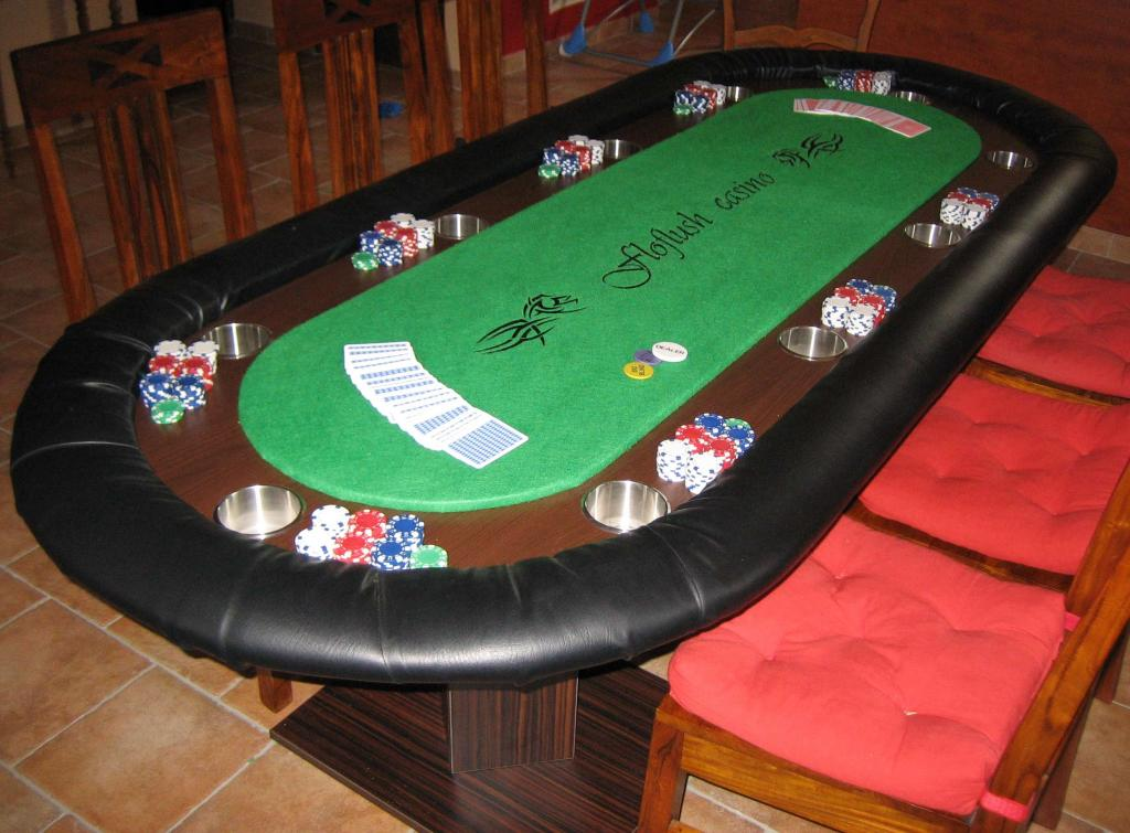 table de poker pour moins de 300 comment la fabriquer. Black Bedroom Furniture Sets. Home Design Ideas